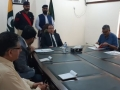 Mr. Justice Raja Saeed Akram Khan, Acting Chief Justice of Azad Jammu & Kashmir, chaired a meeting with Gazetted officers of Supreme Court