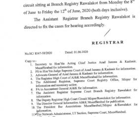Notification Rawalkot